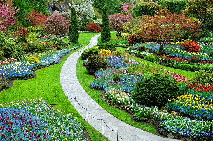 15 top rated tourist attractions in british columbia planetware butchart gardens sciox Gallery