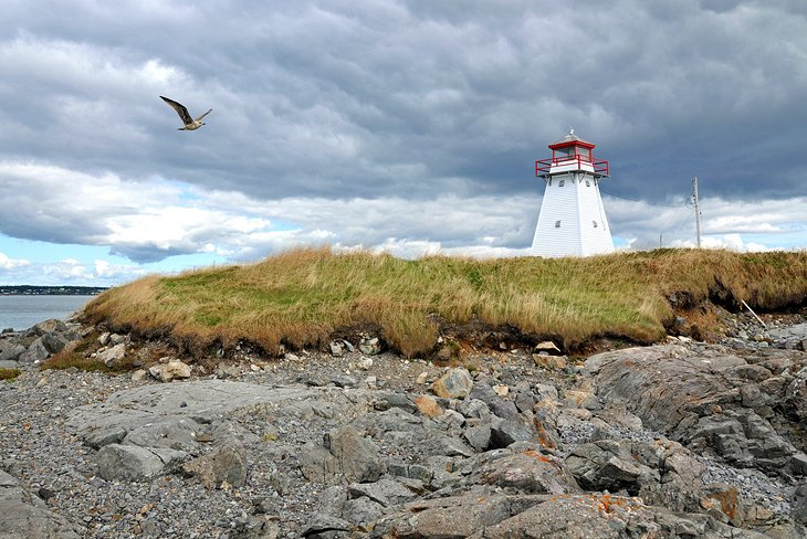 The Lighthouses of Isle Madame
