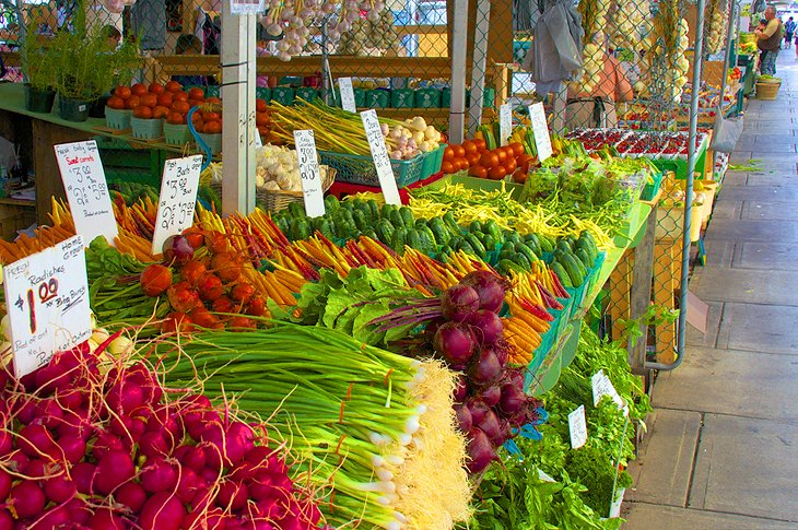 Fresh produce at the Byward Market