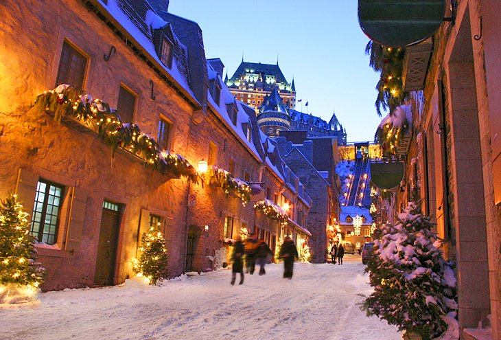 8 TopRated Tourist Attractions in Lower Town Quebec City – Quebec Tourist Attractions Map