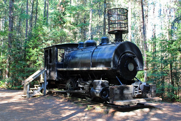 Logging Museum Outdoor Exhibit Trail