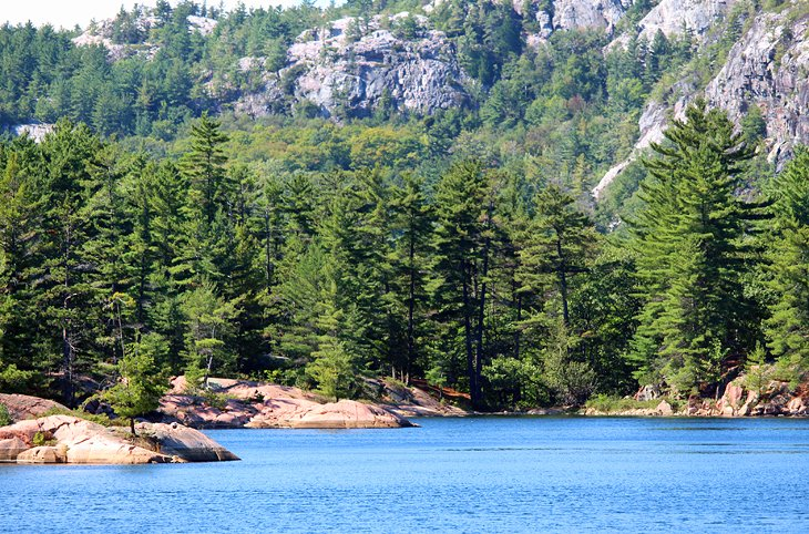 A Y Jackson Lake on the La Cloche Silhouette Trail