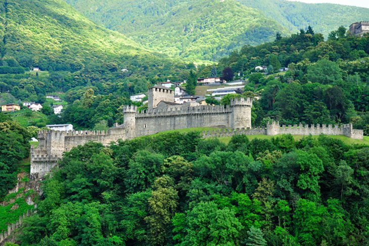 The Bellinzona Castles