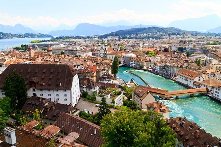 Lucerne Luzern Ch Lu Luc