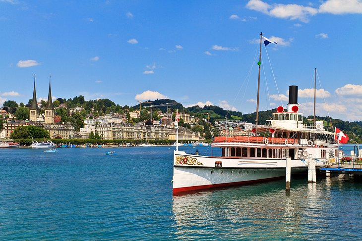 Exploring Lake Lucerne by Boat