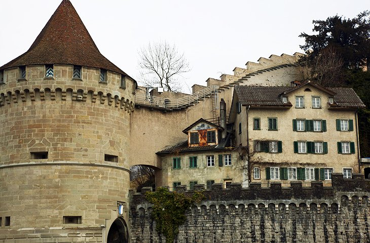Museggmauer & Türme (Town Walls and Towers)