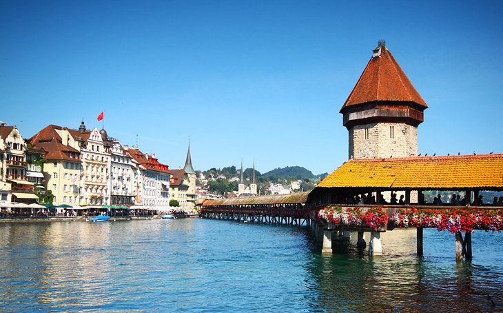 12 TopRated Tourist Attractions in Switzerland – Lucerne Tourist Map