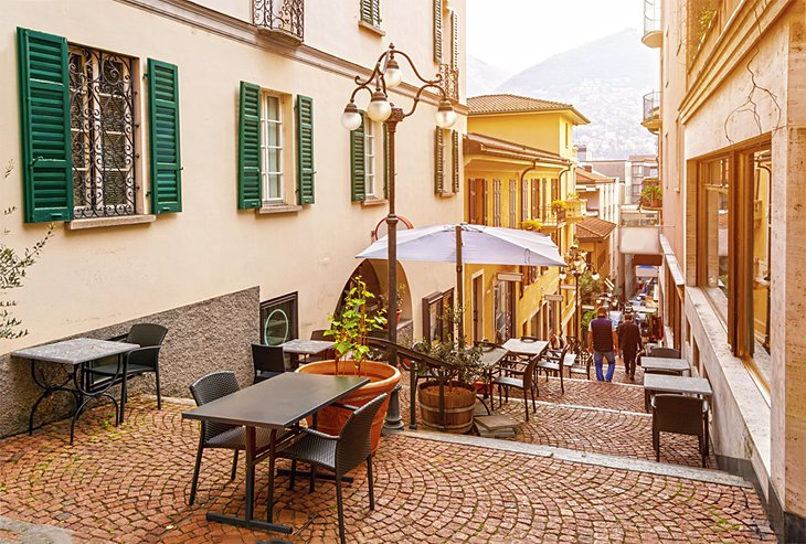Lugano's Old Town