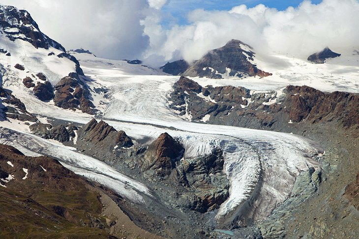 Theodul Glacier and Pass