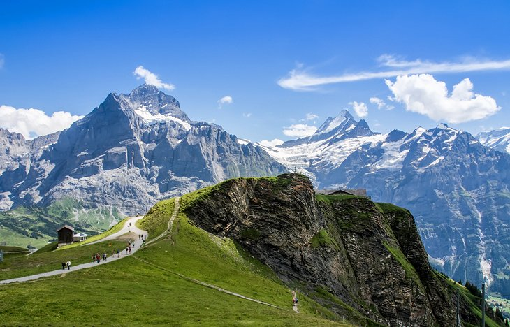 Jungfraujoch and the Bernese Oberland