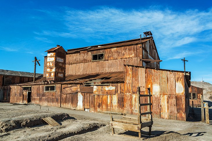 The Humberstone and Santa Laura Saltpeter Works