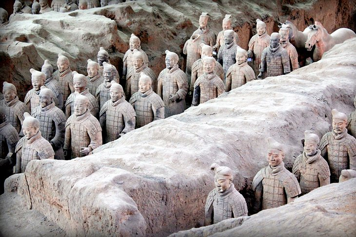 Los guerreros de terracota, Xi'an