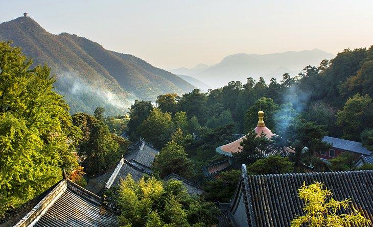 El templo de Tanzhe