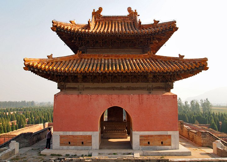 The Western Qing Tombs