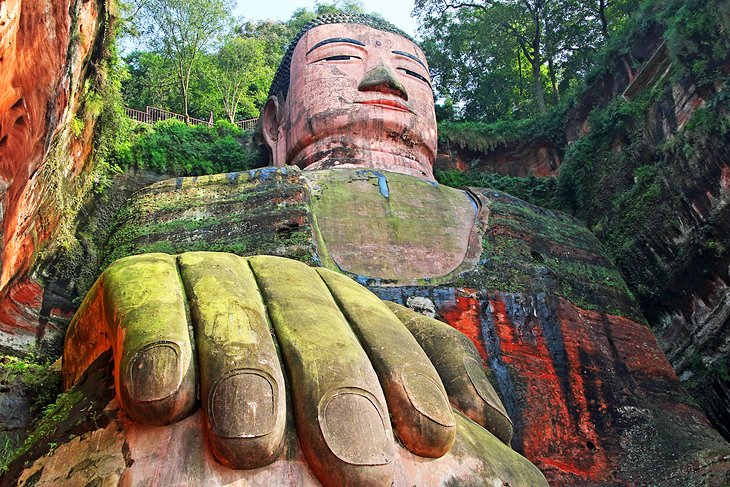 The Leshan Giant Buddha