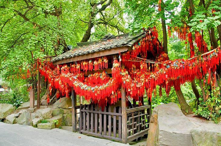 El Monasterio Wenshu (Monasterio Manjushri)