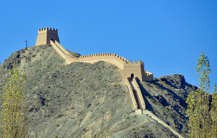Great Wall in Jiayuguan Pass