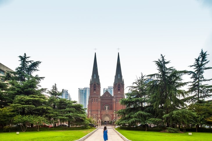 Xujiahui Cathedral and the Sheshan Basilica