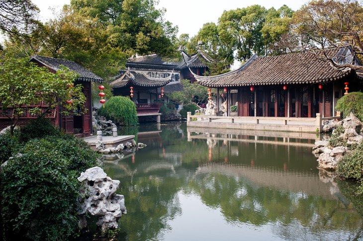 باغ های کلاسیک سوژو چین