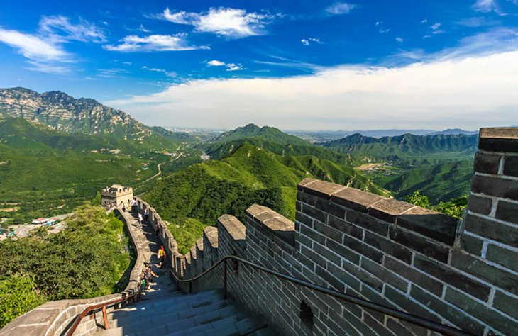 Badaling Pass and the Great Wall of China