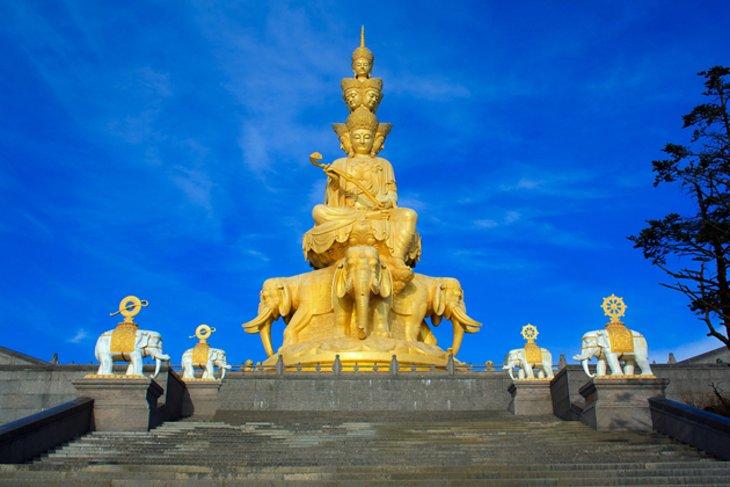 Monte Emei y sus templos