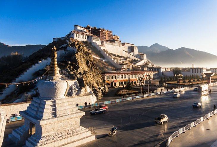 کاخ Potala، تبت