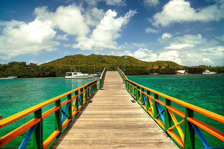 Lovers Bridge, Providencia Island