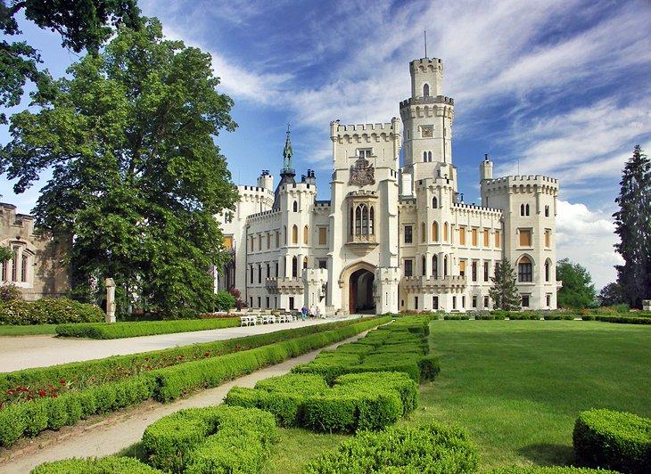 قلعه Hluboká