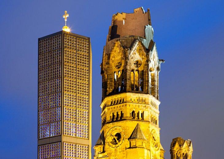 كنيسية القيصر فيلهلم التذكارية، برلين، ألمانيا
