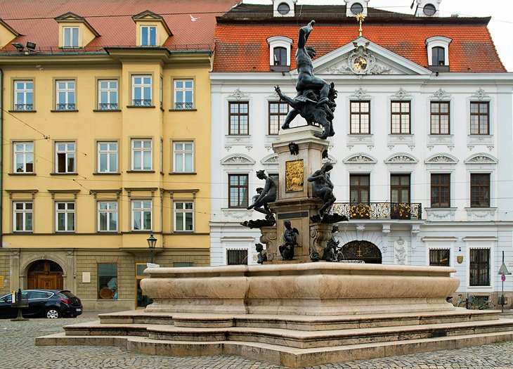 The German Baroque Gallery and the Schaezler Palace