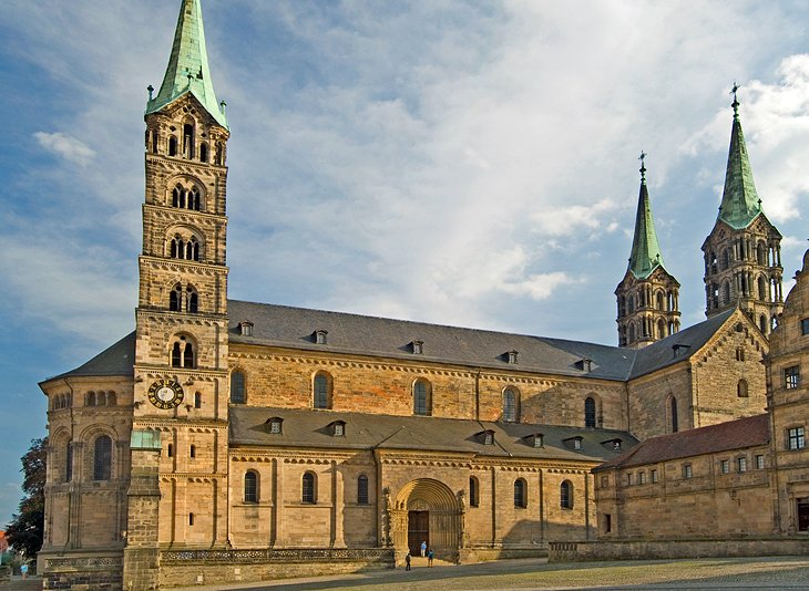 Bamberg Cathedral in the World Heritage town of Bamberg