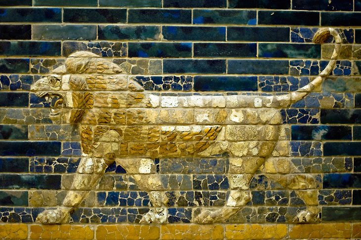 Lion on the Ishtar Gate