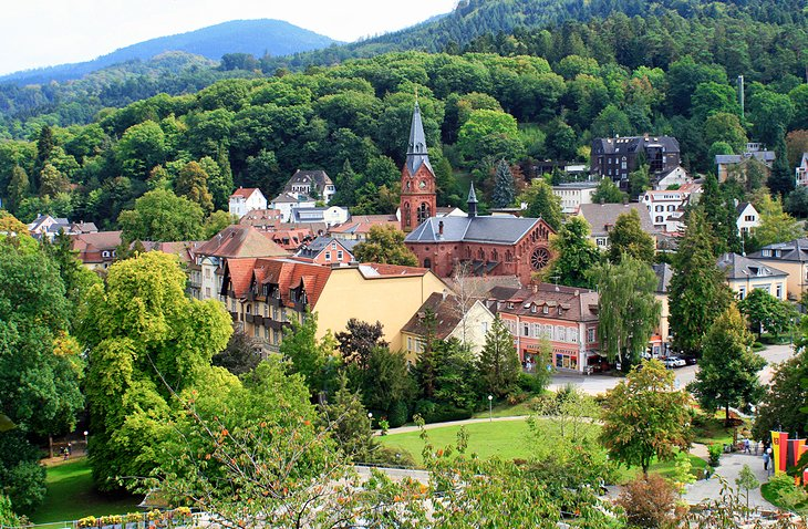 The Baths of Badenweiler