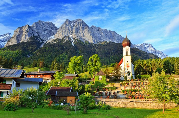Garmisch partenkirchen voyages cartes - Garmisch partenkirchen office du tourisme ...