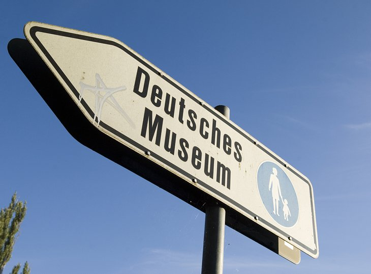 Deutsches Museum sign