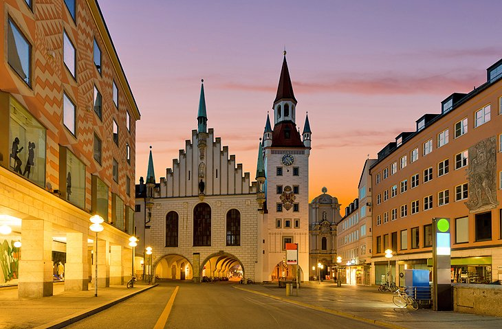 where to stay in munich best areas hotels 2018 planetware. Black Bedroom Furniture Sets. Home Design Ideas