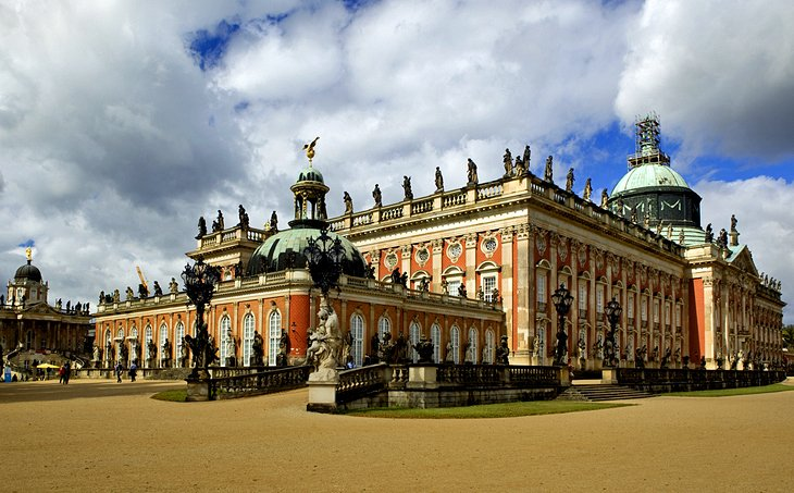 The New Palace at Sanssouci
