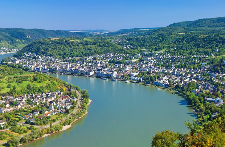 TopRated Tourist Attractions In The Rhine Valley PlanetWare - Rhine river location