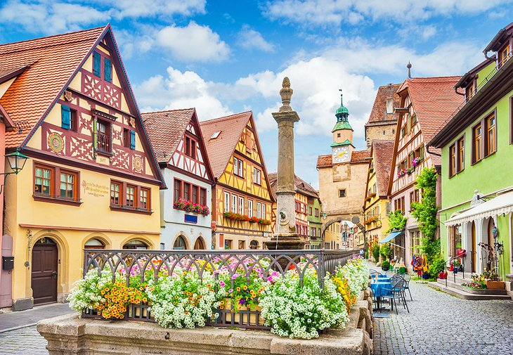 Romantic Road and Rothenburg