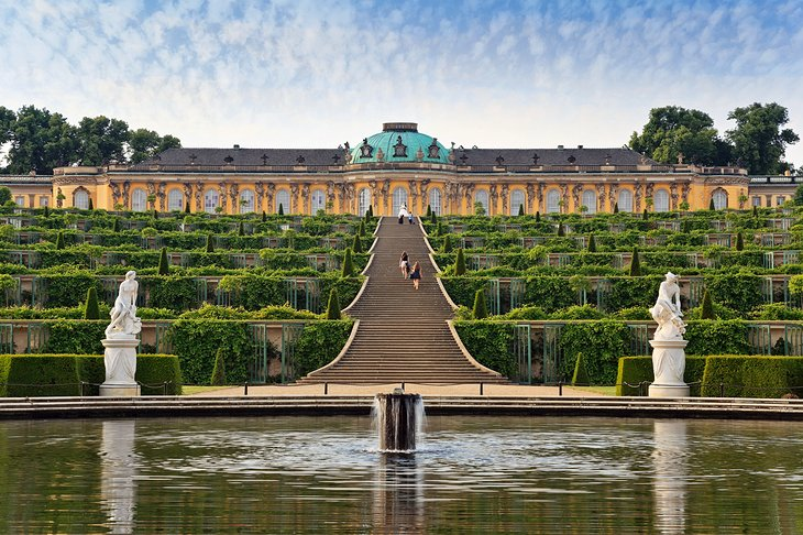 Sanssouci Park and Palace, Potsdam