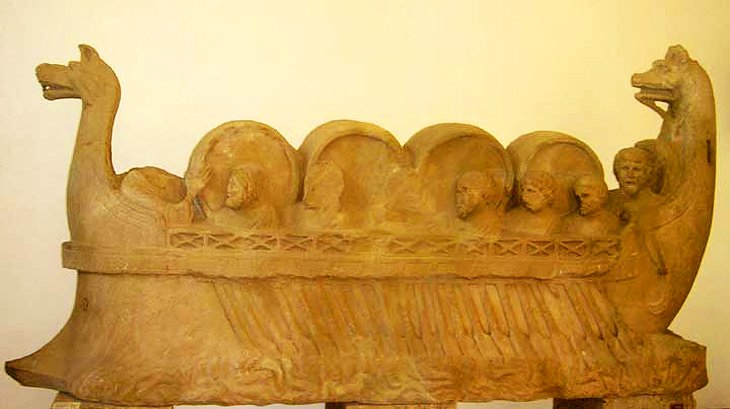Sarcophagus, Trier Archeological Museum