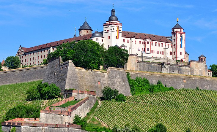 The Marienberg Fortress and Princes' Building