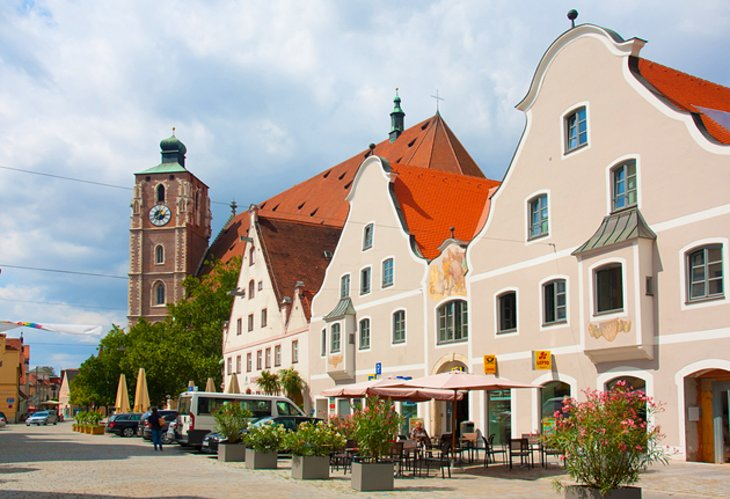 The Old Town of Ingolstadt