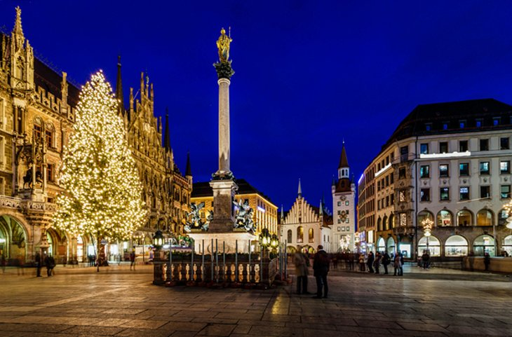 Marienplatz and the Neues Rathaus
