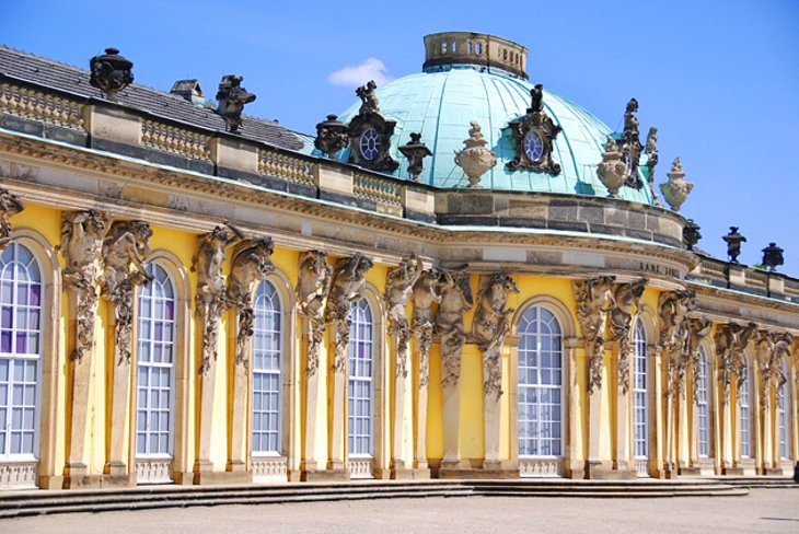 Sanssouci Palace and the New Rooms