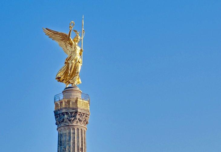 عمود النصر، أحد المعالم السياحية في مدينة برلين، ألمانيا