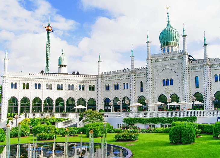 Moorish Palace at Tivoli Gardens