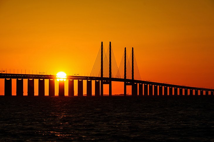 Oresund Bridge, Copenhagen