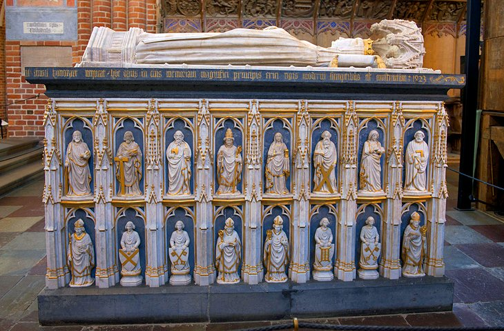Royal Tombs in the Roskilde Cathedral