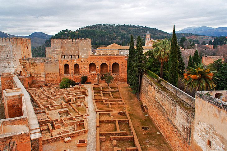 Alcazaba: Ruins of the 13th-Century Moorish Castle